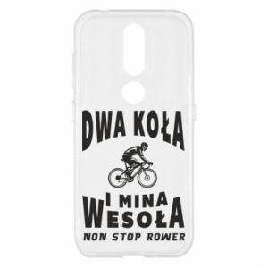 Etui na Nokia 4.2 Rowerzysta na rowerze