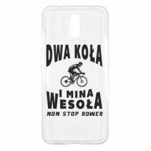 Etui na Nokia 2.3 Rowerzysta na rowerze