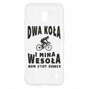 Etui na Nokia 2.2 Rowerzysta na rowerze