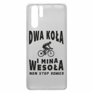 Huawei P30 Pro Case Bicyclista rides a bicycle