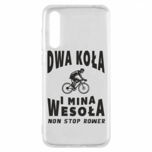 Huawei P20 Pro Case Bicyclista rides a bicycle