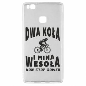Huawei P9 Lite Case Bicyclista rides a bicycle