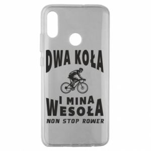 Huawei Honor 10 Lite Case Bicyclista rides a bicycle