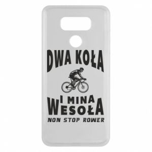 LG G6 Case Bicyclista rides a bicycle