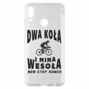 Huawei P Smart 2019 Case Bicyclista rides a bicycle