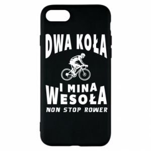 iPhone SE 2020 Case Bicyclista rides a bicycle