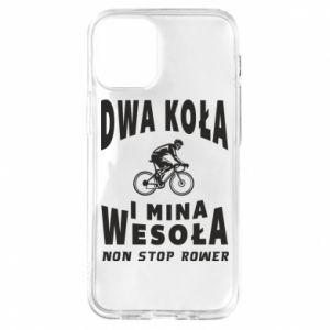 Etui na iPhone 12 Mini Rowerzysta na rowerze