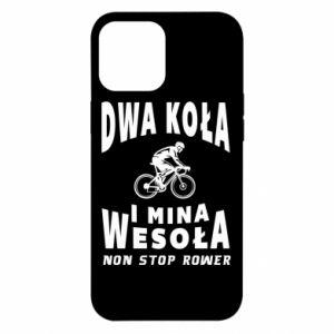 Etui na iPhone 12 Pro Max Rowerzysta na rowerze
