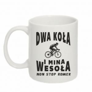 Mug 330ml Bicyclista rides a bicycle