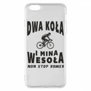 Phone case for iPhone 6 Plus/6S Plus Bicyclista rides a bicycle