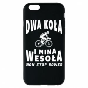 Phone case for iPhone 6/6S Bicyclista rides a bicycle