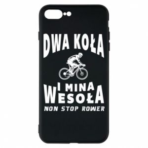 Phone case for iPhone 8 Plus Bicyclista rides a bicycle