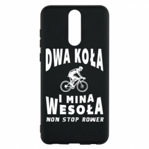 Phone case for Huawei Mate 10 Lite Bicyclista rides a bicycle