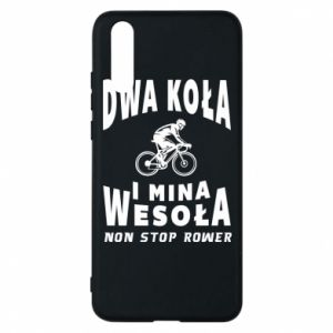 Phone case for Huawei P20 Bicyclista rides a bicycle