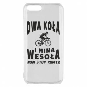 Phone case for Xiaomi Mi6 Bicyclista rides a bicycle
