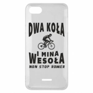 Phone case for Xiaomi Redmi 6A Bicyclista rides a bicycle