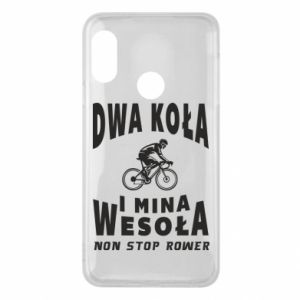 Phone case for Mi A2 Lite Bicyclista rides a bicycle