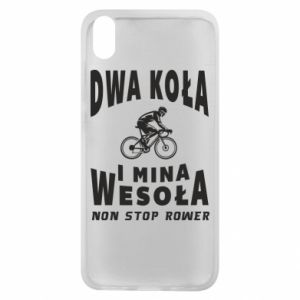 Phone case for Xiaomi Redmi 7A Bicyclista rides a bicycle