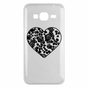 Phone case for Samsung J3 2016 Roses in the heart