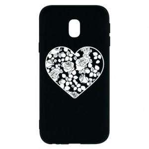Phone case for Samsung J3 2017 Roses in the heart