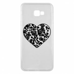 Phone case for Samsung J4 Plus 2018 Roses in the heart