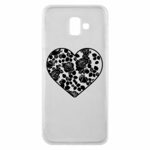 Phone case for Samsung J6 Plus 2018 Roses in the heart