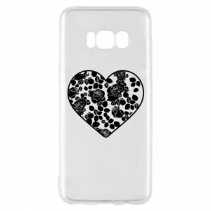 Phone case for Samsung S8 Roses in the heart