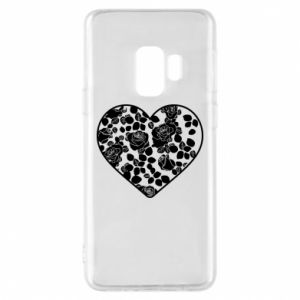 Phone case for Samsung S9 Roses in the heart