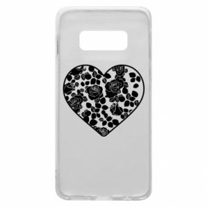 Phone case for Samsung S10e Roses in the heart