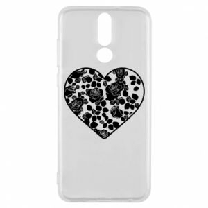 Phone case for Huawei Mate 10 Lite Roses in the heart - PrintSalon