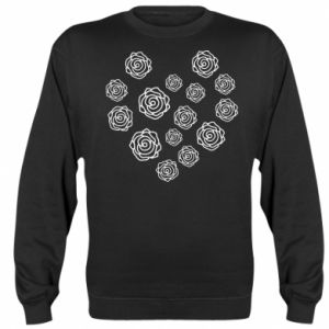 Sweatshirt Roses