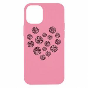 Etui na iPhone 12 Mini Róże