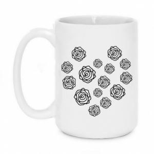 Mug 450ml Roses