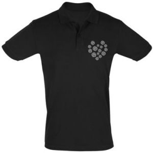 Men's Polo shirt Roses