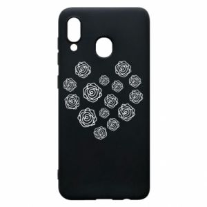 Phone case for Samsung A30 Roses
