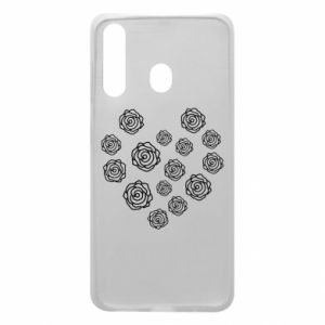 Phone case for Samsung A60 Roses