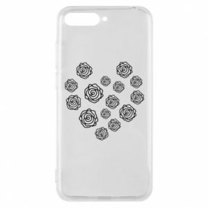 Phone case for Huawei Y6 2018 Roses