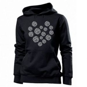 Women's hoodies Roses
