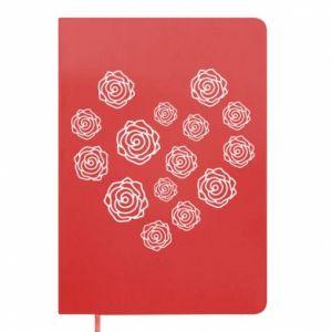 Notepad Roses