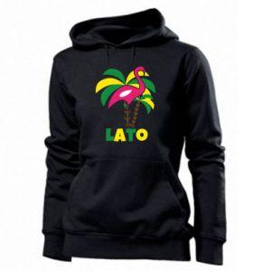 Women's hoodies Pink flamingo