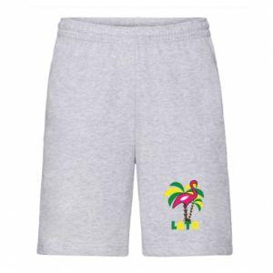Men's shorts Pink flamingo