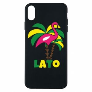 Phone case for iPhone Xs Max Pink flamingo