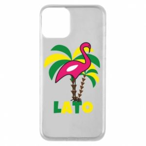 Phone case for iPhone 11 Pink flamingo