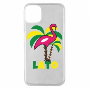 Phone case for iPhone 11 Pro Pink flamingo