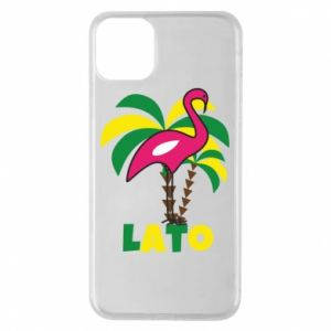 Phone case for iPhone 11 Pro Max Pink flamingo