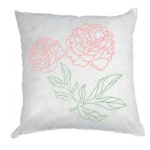Poduszka Różowe piwonie