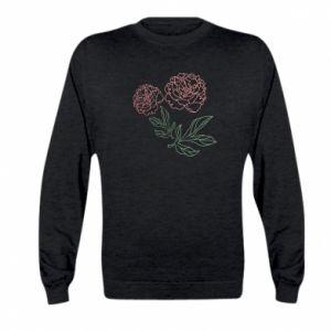 Bluza dziecięca Różowe piwonie