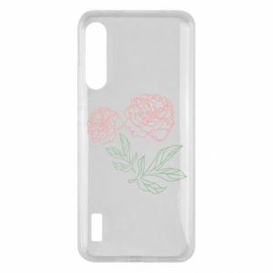 Xiaomi Mi A3 Case Pink peonies