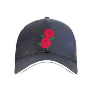 Czapka Różowe róże