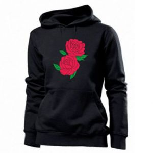 Women's hoodies Pink roses